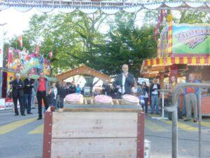 Start der Luzerner Herbstmesse auf dem Inseli