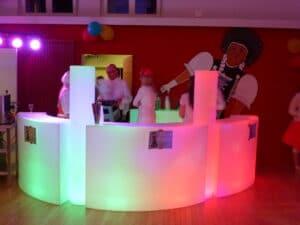 Gallusheim Kriens LED Bar für die Fasnacht mieten