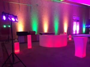 Architektur und LED In oder Outdor