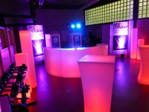 LED Bar mieten Aarau Arga