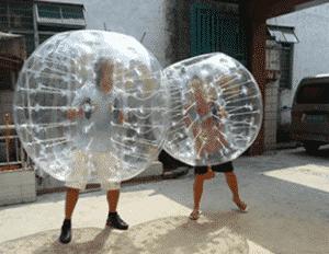 lass dich vom Blasenfussball anstecken